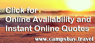 Click here for Live Online Availability www.campsbay.travel